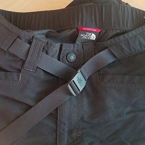 North Face men's slate gray short cargo pants
